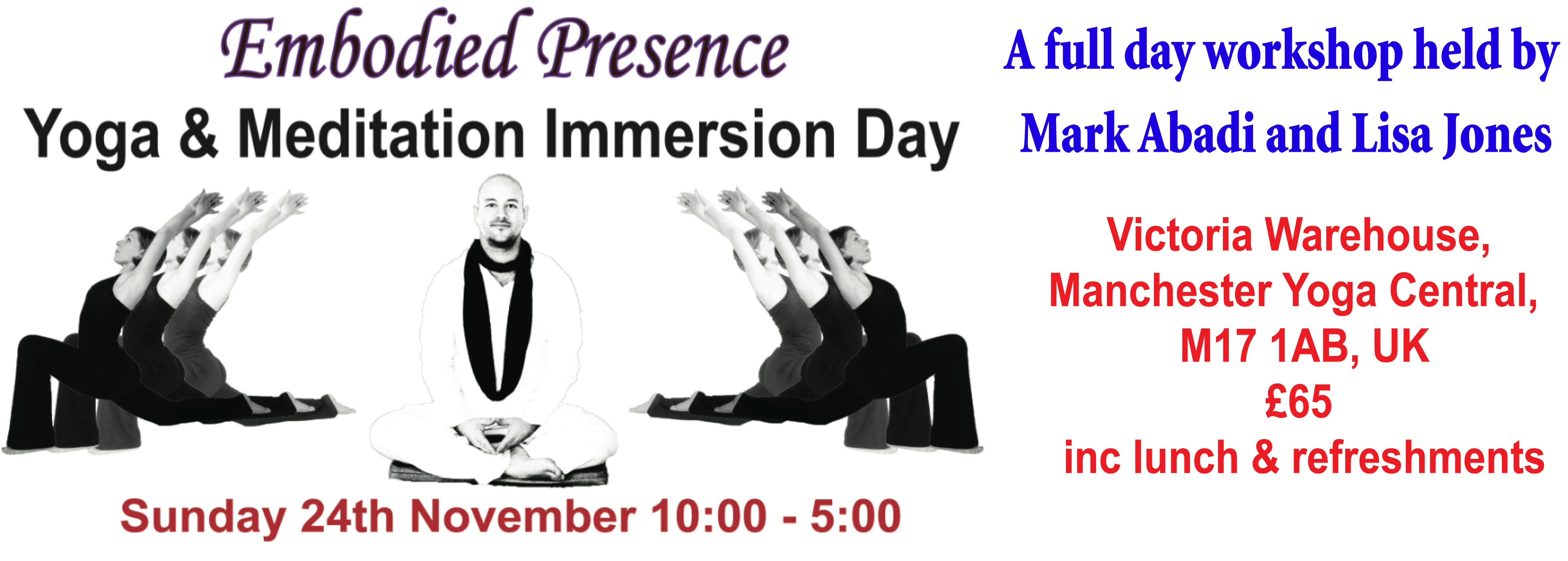 Embodied Presence Workshop banner