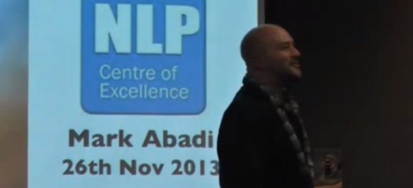Mark at the NLP Conference on Motivation